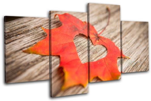 Heart Leaf Autumn Floral - 13-0585(00B)-MP04-LO